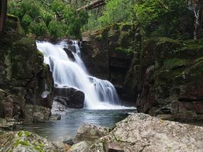 田立の滝 鶴翼の滝