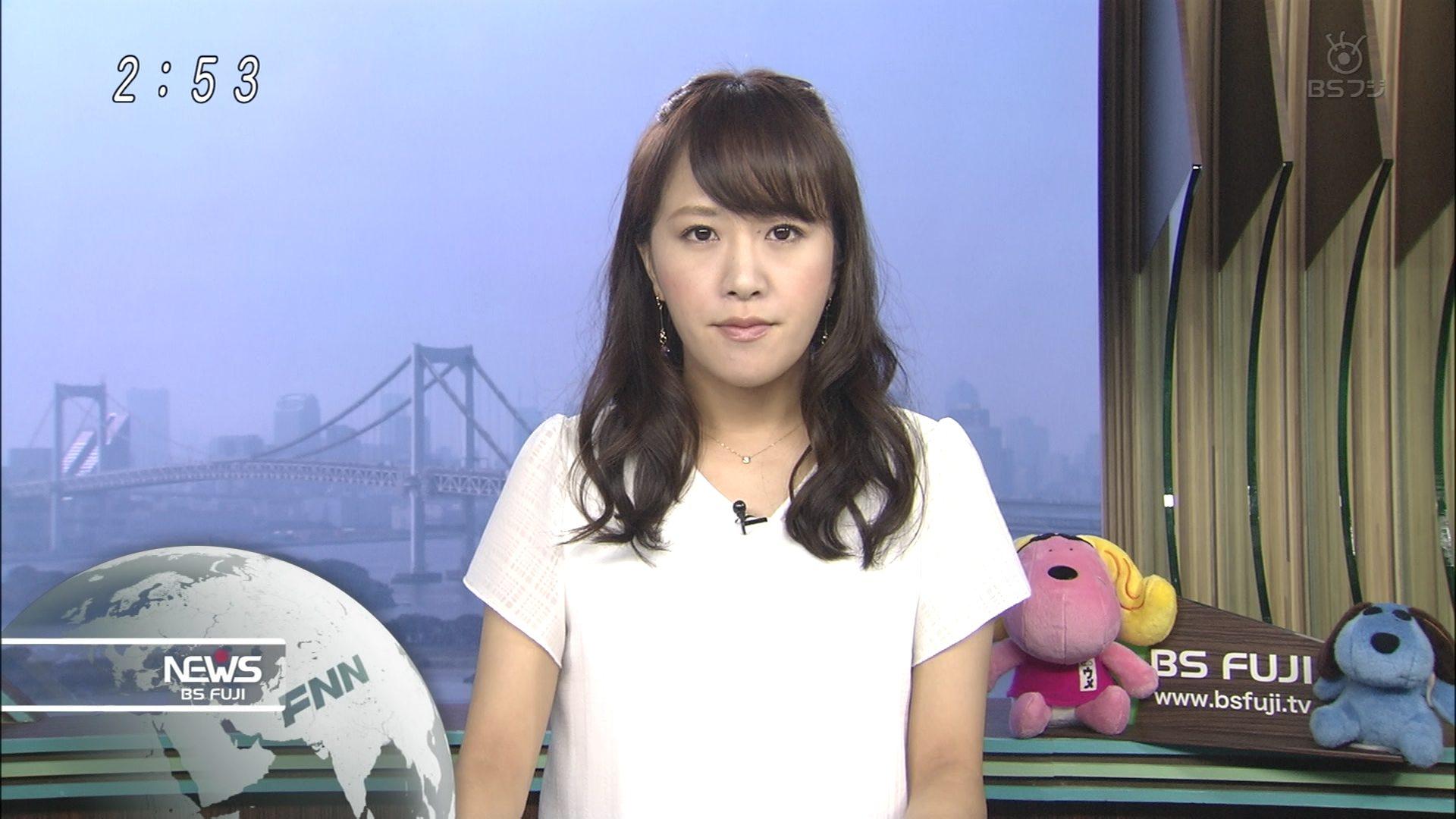 堤友香 BSフジニュースb 0002