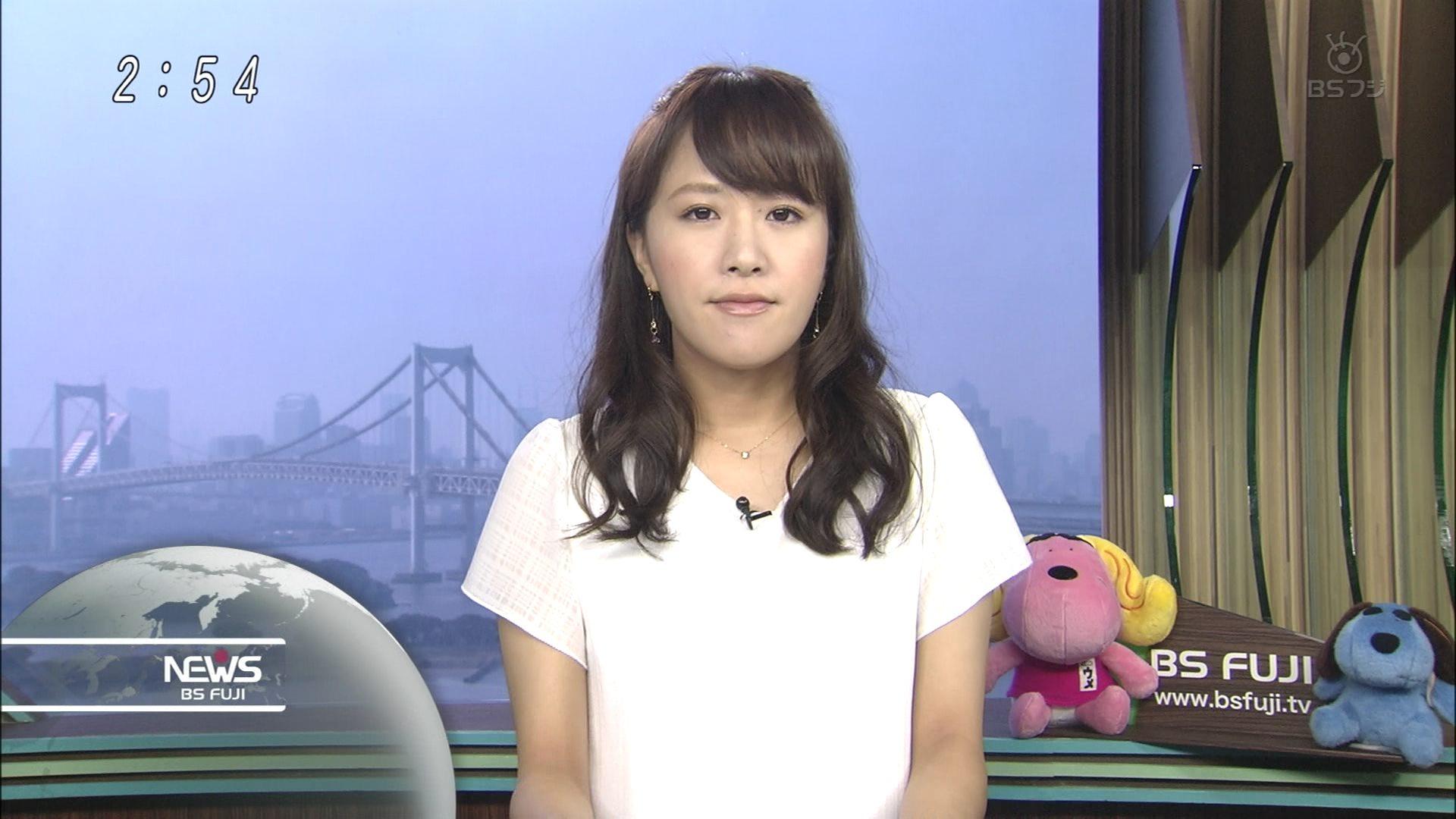 堤友香 BSフジニュースb 0003
