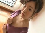 好きな女の子がレオタードを着て新体操の練習をするイメージ動画