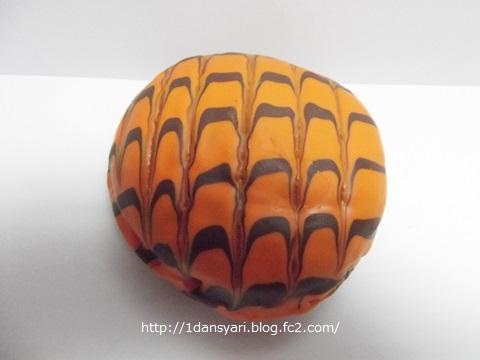 ハロウィンドーナツ オレンジチョコ