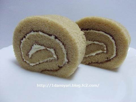 和栗のロールケーキ