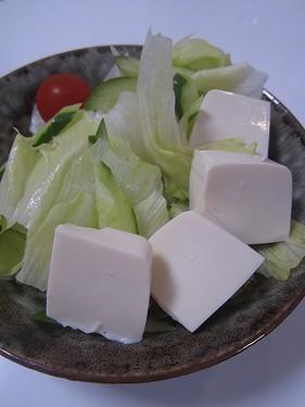 20150823 豆腐サラダ