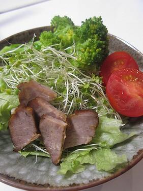 20150930 煮豚サラダ