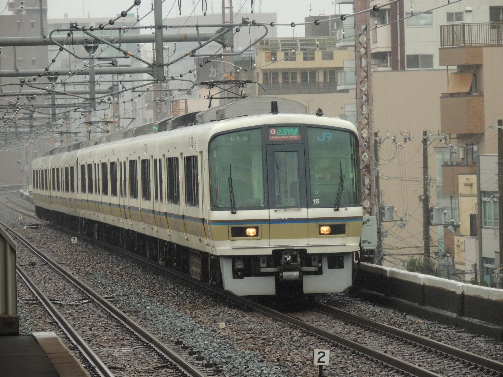 221系更新車鶴橋 (1)