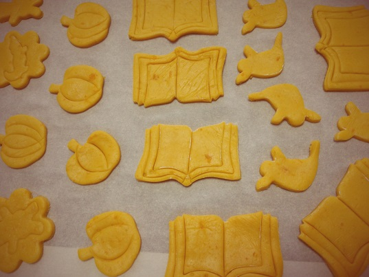 かぼちゃクッキー③