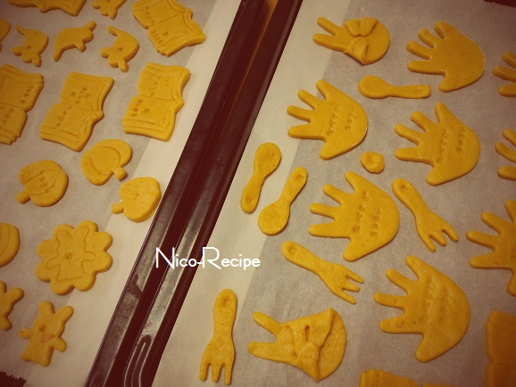 かぼちゃクッキー④