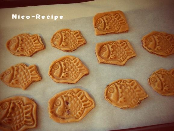 たい焼きクッキー⑤
