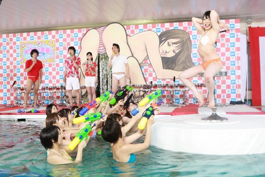 スカパー水泳大会011