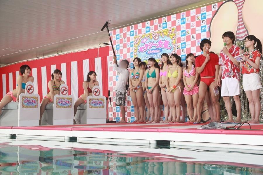 スカパー水泳大会013