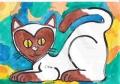 4ハートのある猫ハヌマンラングール (2)