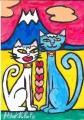 3猫と富士 (1)