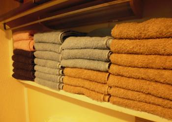 洗面所のタオル