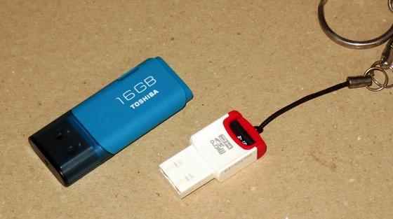 USBメモリー比較