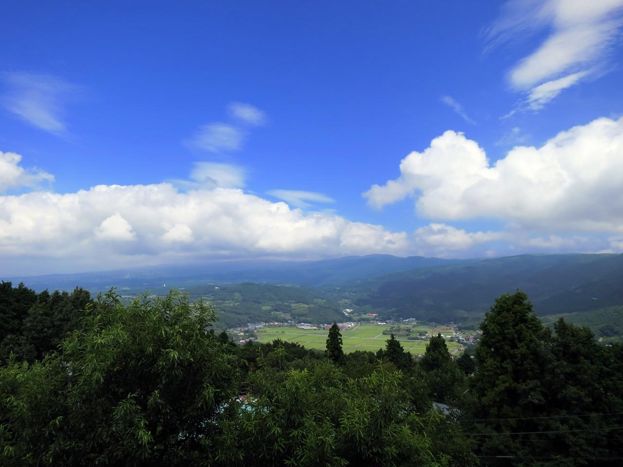 南箱根の雲-10