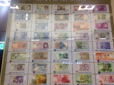 世界のお金。日本円を探せッ!笑