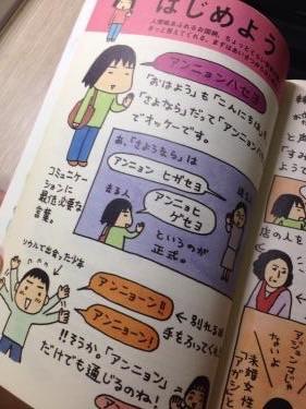 イラストやコミック形式で韓国語初級者だった私には重宝した代物。笑