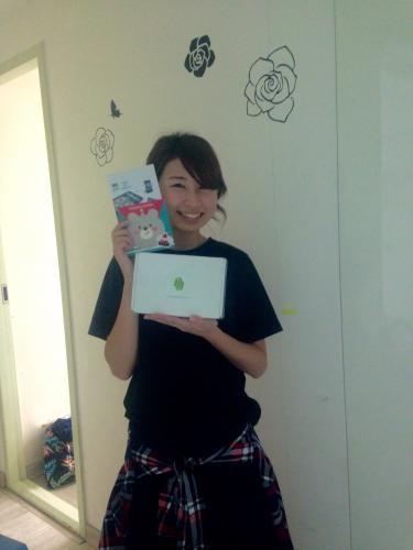 ブログイベント当選者のお客様^^おめでとうございます♡