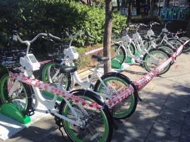 突如として現れたd誰でも乗れる自転車!