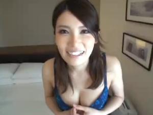 堀内秋美 素人専門学生のハメ撮りシーン