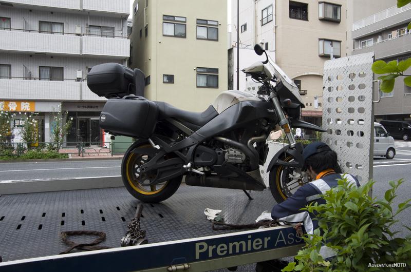 Martin der Biker in Tokyo