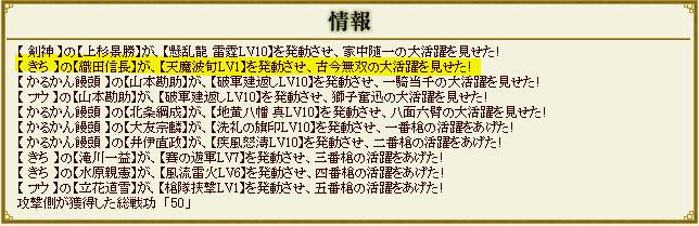 きちさんの信長デビュー