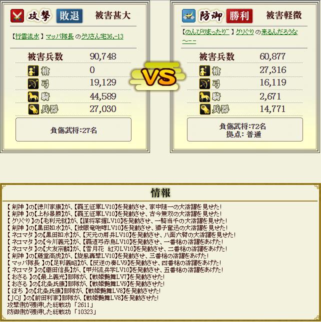 ぐりさん盟主戦2