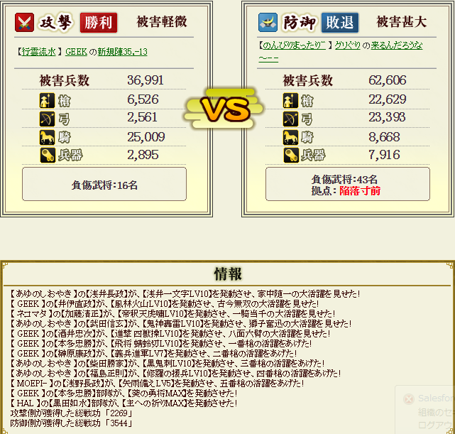 ぐりさん盟主戦3