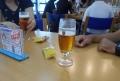 試飲のビール