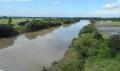 治水橋より見る荒川