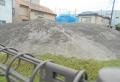 掩体壕の裏側