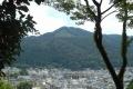 吉田山から見た大文字山