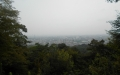 四ツ辻から見る京都市内