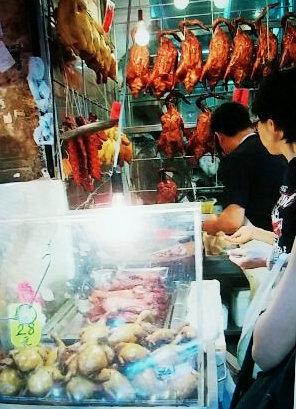 香港ワンチャイ市場②-1