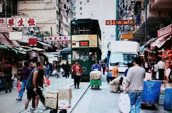 香港島路面電車(トラム)④-1