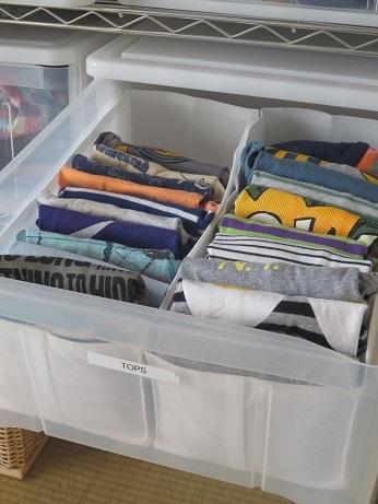 衣類収納②