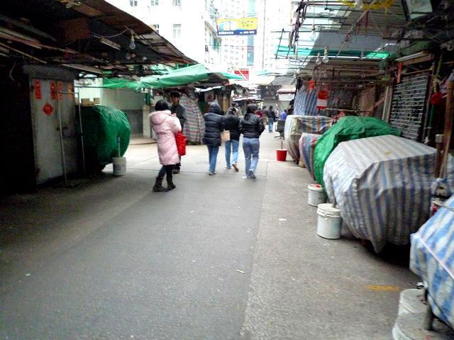 香港旧正月のワンチャイ (2)