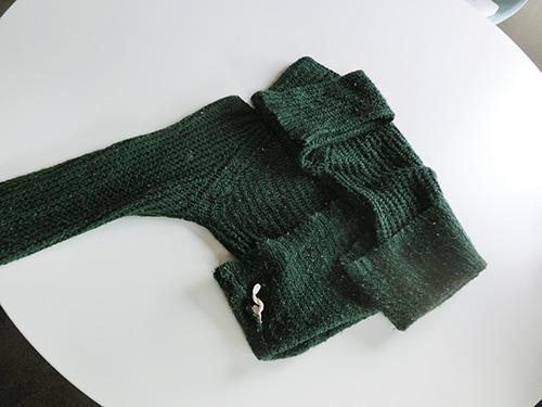収納・セーター③