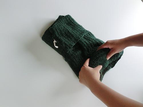 収納・セーター④