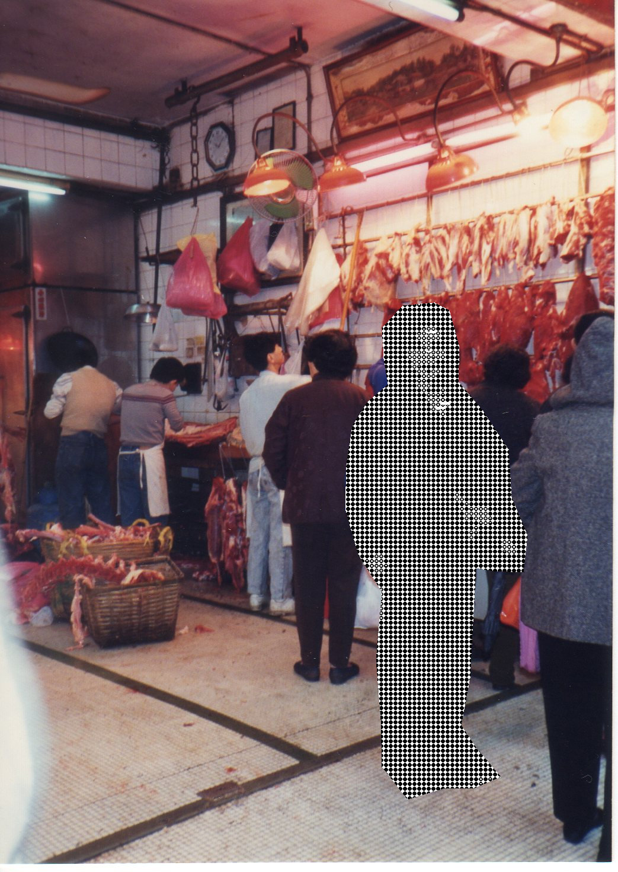 香港・梅田さん1992年3月 ①ー1