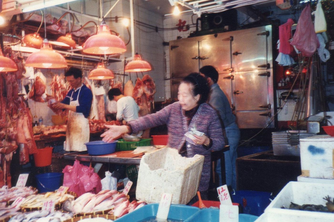 香港・梅田さん1992年3月 ②-1