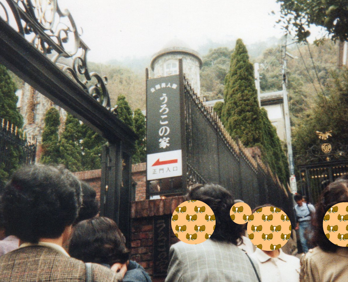 神戸観光(1992年5月30日)うろこの家①
