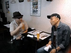 2015-9辰三&健市ライブ前飲