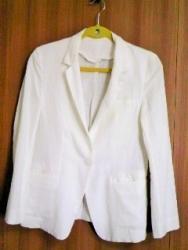 ジャケット白