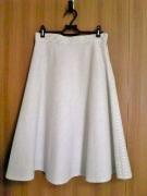 斜めストライプスカート