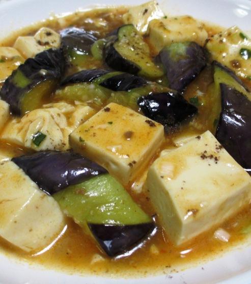 麻婆茄子豆腐 大