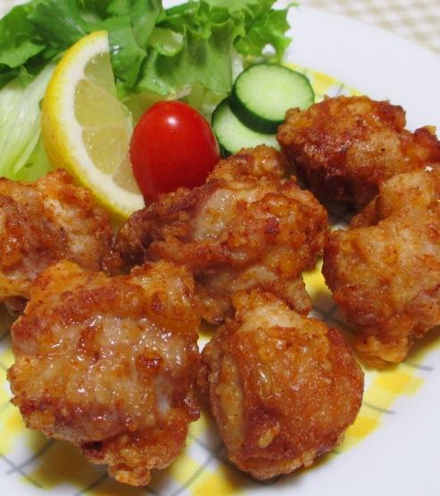 鶏の唐揚げ一味ラーユ味 大