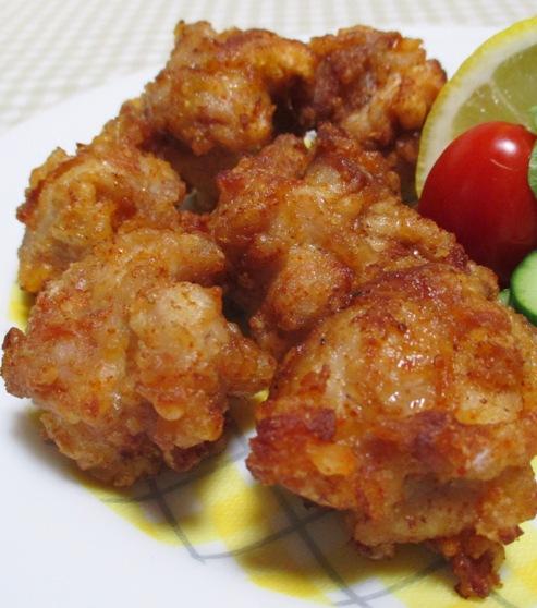 鶏の唐揚げ一味ラーユ味 拡大