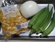 なめことオクラの中華スープ 材料