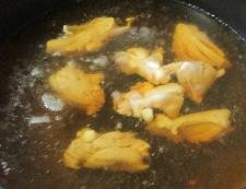鶏もも肉と車麩の煮物 調理③